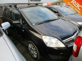 2009 Vauxhall Zafira MPV 1.6 16V 100 Life Petrol black Manual