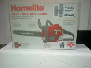 14 in Gas Chain Saw Brand New in Box