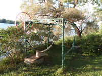 Sturdy BOAT LIFT  for sale   8 x 10 x 8 high