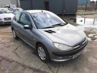 Peugeot 206 1.2 Lx 3 Door *Ideal First Car* Air Conditioning, 12 Month Mot, 3 Month Warranty