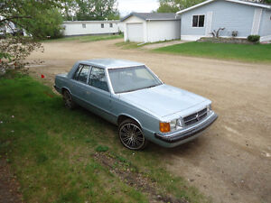 1985 Dodge Aries with 78000 km