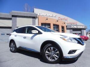 Nissan Murano SL, AWD, CUIR, TOIT, GPS, CAMÉRA 360, À VOIR 2016