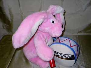 Sale $10.00 Large Energizer Bunny with tag 15 inch