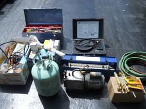 REFRIGERATION and AC MECHANIC /APPRENTICE TOOLS and EQUIPMENT