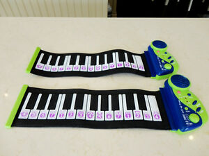 Two Brand New Roll Up Pianos -25 Key & several Features $17/each
