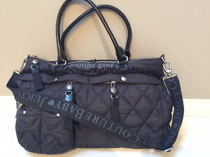 Juicy Couture Diaper Bag with accessories