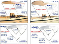 tent for the boat - MOMAR SPORT - € 63 - awning for sailboat - canopy for yachts – bimini for boat