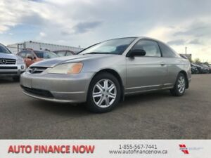 "2003 Honda Civic Coupe 2dr Cpe LX Manual ""mechanics special"""
