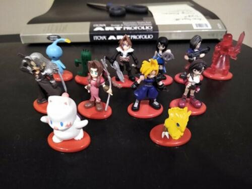 Final Fantasy VII (7) & VIII (8) Coca Cola figures 2 Sets Of 6 (12 total)