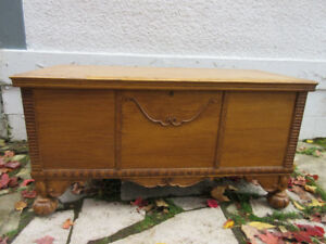 Decorative Antique (1935) Cedar Chest