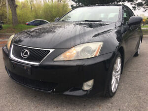 "2007 Lexus IS 250 AWD ""12 Month Warranty Included"""