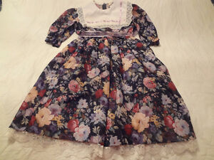 Girls Floral Dress size 10