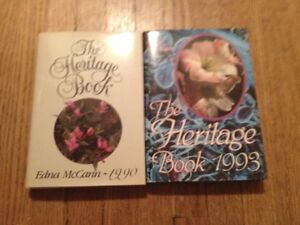 The Heritage Book, 1990 and 1993 ed., by Edna McCann