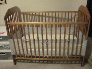 Crib Mattress and Mesh Safety Liner