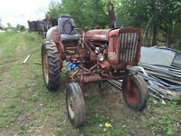 Farmall tractor 140 International and other items