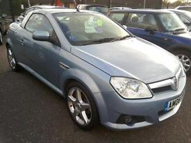 2008 Vauxhall Tigra 1.8 16V Exclusive only 49K A/C Blue Excellent Example