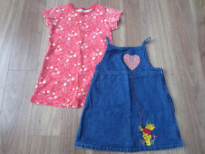 TODDLER GIRLS DRESSES - SIZE 2T - $5.00 for BOTH