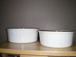 TWO Casserole Dishes  Like New