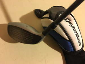 TaylorMade SLDR S 4 Hybrid rescue club regular flex head cover