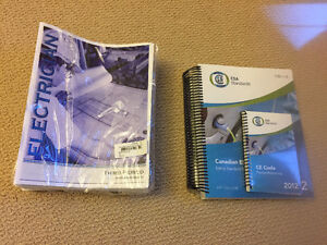 electrician book for 3rd period and electrical code book 2012