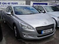 2013 13 PEUGEOT 508 2.0 HDI ACTIVE 4DR (140) LOW MILES DIESEL