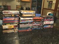 Over 60 dvds!!!! Less than £1 each inc box sets