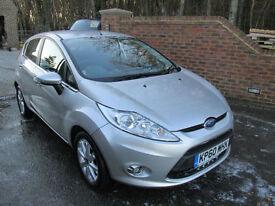 2010 (60) FORD FIESTA 1.4 ZETEC AUTO 5 DOOR HATCH + JUST 26,000 MILES