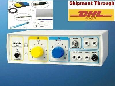 Prof. Electrosurgical Cautery Hyfrecator Simplex -300 Electro Surgical Machine