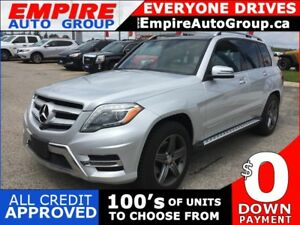 2015 MERCEDES-BENZ GLK-CLASS GLK 350 * 4 MATIC * 4WD * LEATHER *