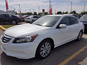 2012 Honda Accord EX-L SEDAN WHITE SNOW - MINT - LOOOOOOOOOW K $