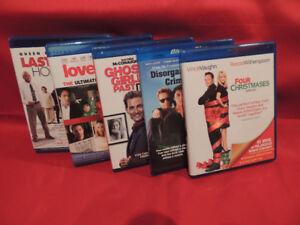 5 Blue Ray Movies. Drama/Action.