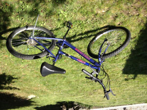 Bicycle for 7-12 year old girl. In nice condition
