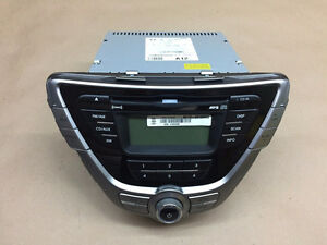 2012 Hyundai Elantra Audio Unit