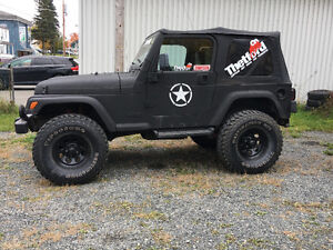1997 Jeep TJ  echange muscle car