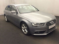 £265.51 PER MONTH - 2014 AUDI A4 AVANT 2.0TDI ULTRA SE TECHNIK DIESEL MANUAL