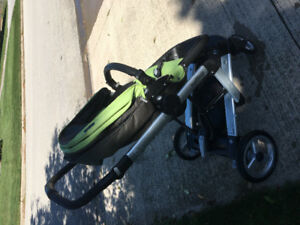 Per Perego Skate stroller 3 in 1 with bassinet + rain cover