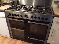 Beko range cooker, electric/gas