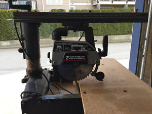 8 1/4 inch radial saw