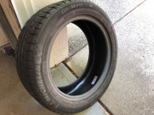 For Sale set of 4 Michelin Alpine Pilot 225 / 50 R17 used tires.