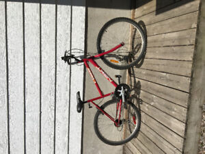 Bike not being used