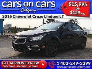 2016 Chevrolet Cruze Limited LT w/BackUp Cam, BlueTooth, USB Con