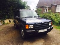 Discovery td5 auto 7 seater