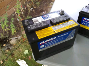 SOLD - ACDelco car battery $50 - Model 36RPS with 660 CCA 130 RC
