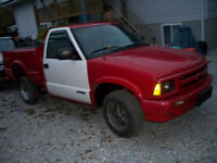 PARTING OUT 2000 TO 1985 S-10 TRUCKS 2.2L 2.5L 2.8L 4.3L