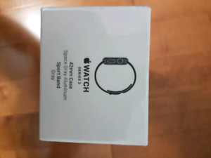 NEW* Apple Watch - Series 3 Space Gray Aluminum 42mm Sports Band