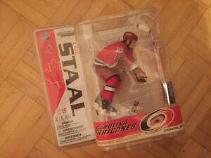 McFarlane Buffalo Carolina Columbus hockey figurine