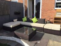 Sectional Rattan Garden Furniture by Outsunny