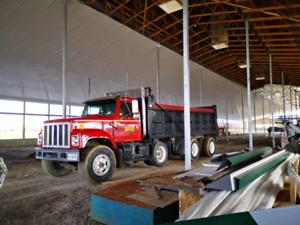 1997 International tri axle dump truck