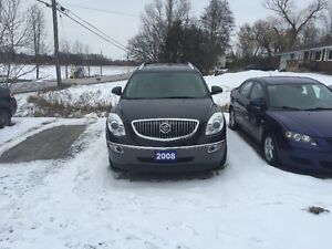 08 ENCLAVE GXI CERT TAXS WARRANTY ALL INCL IN PRICE 8475.00