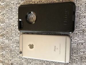 Iphone 6s 64G avec Case Otterbox noir